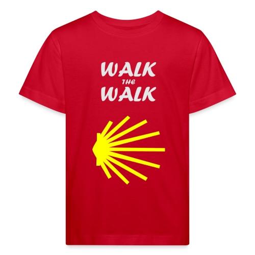 Walk the Walk - Camino de Santiago - Organic børne shirt