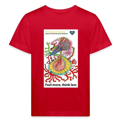 Sense of touch - Camiseta ecológica niño