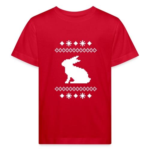 Norwegerhase hase kaninchen häschen bunny langohr - Kinder Bio-T-Shirt