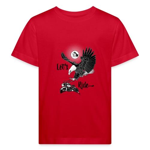 Baldeagle met een panhead - Kinderen Bio-T-shirt