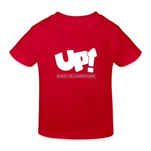 Up Dance White Logo - Kids' Organic T-Shirt