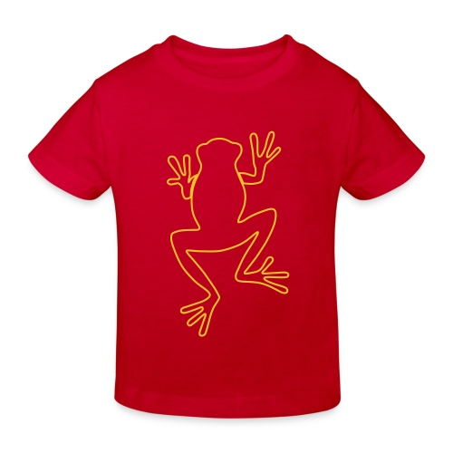 frog A - Kids' Organic T-Shirt