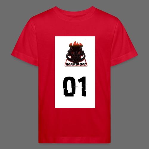 Boar blood 01 - Ekologiczna koszulka dziecięca