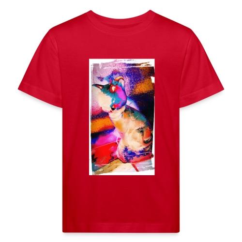 Toop Toop t-shirt katoen | kinderen 3-8 | Kunstkat - Kinderen Bio-T-shirt