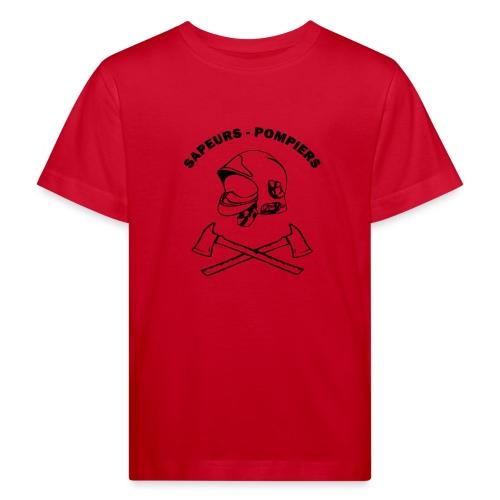Sapeurs Pompiers petites haches casque - T-shirt bio Enfant