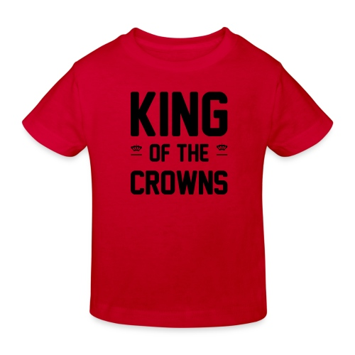 King of the crowns - Kinderen Bio-T-shirt