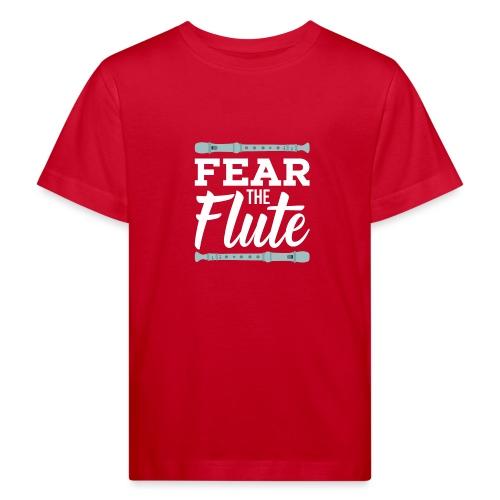 Flute - Flöte Desing für Flötist - Kinder Bio-T-Shirt