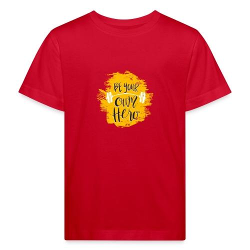 GYM Hero - Lasten luonnonmukainen t-paita