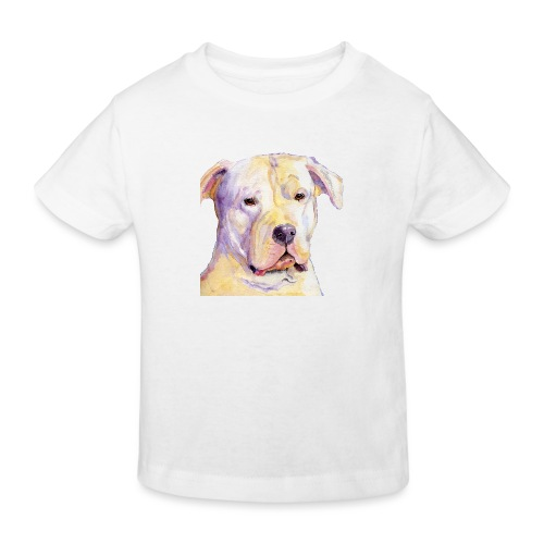dogo argentino - Organic børne shirt