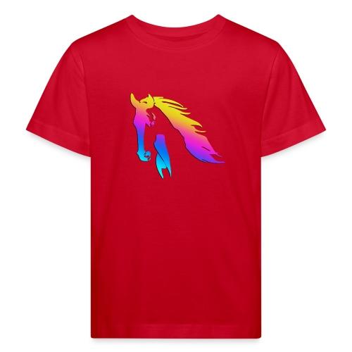 Cheval arc en ciel - T-shirt bio Enfant