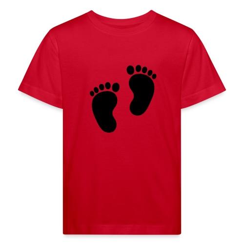 Baby voetjes - Kinderen Bio-T-shirt
