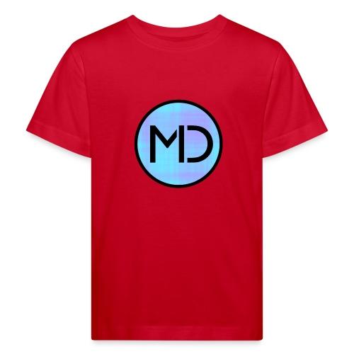 MD Blue Fibre Trans - Kids' Organic T-Shirt