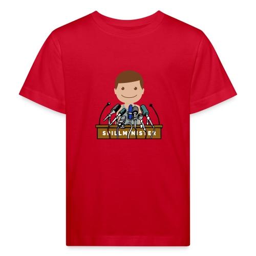 Spillminister logoen - Økologisk T-skjorte for barn