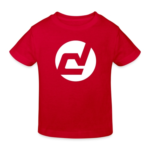 logo blanc - T-shirt bio Enfant