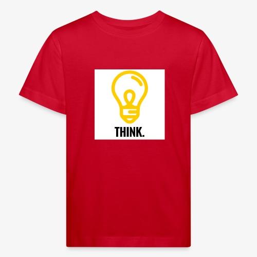 THINK - Maglietta ecologica per bambini