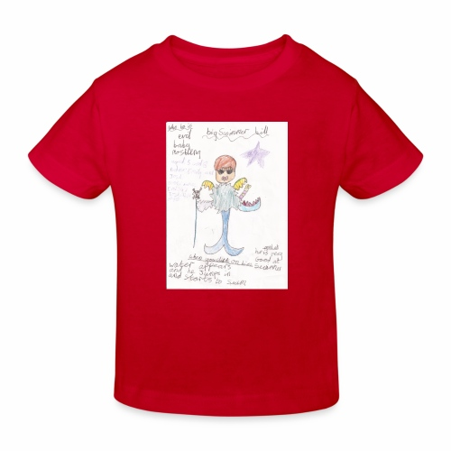 Big Swimmer Bill DHIRT - Kids' Organic T-Shirt
