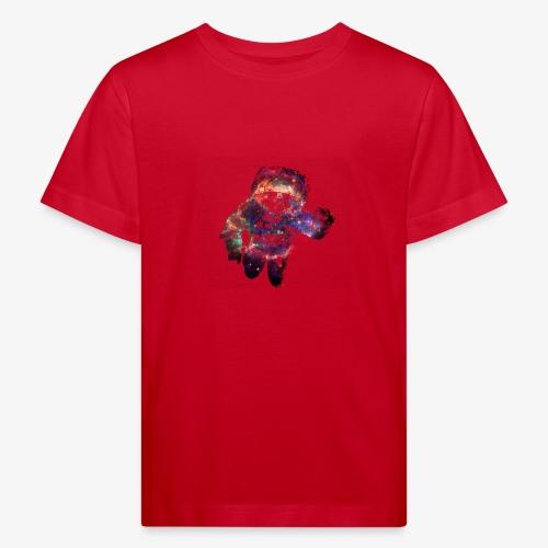 Supernova Astronaut Sternenhimmel Weltall 03 - Kinder Bio-T-Shirt