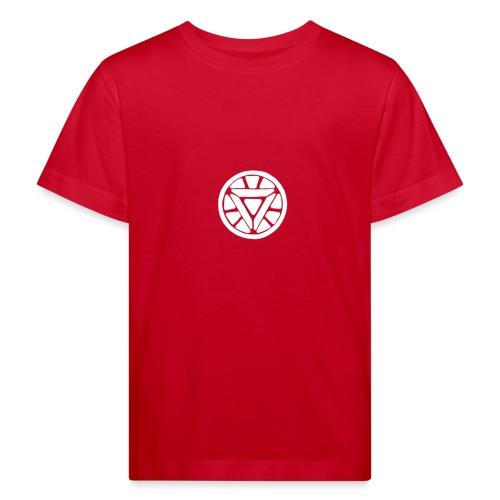 Superheld Reaktor - Kinder Bio-T-Shirt