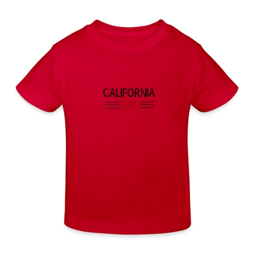 california girl - Kinder Bio-T-Shirt