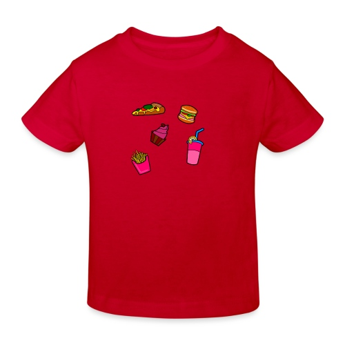 Fast Food Design - Kinder Bio-T-Shirt