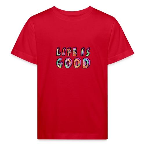 LifeIsGood - Kids' Organic T-Shirt