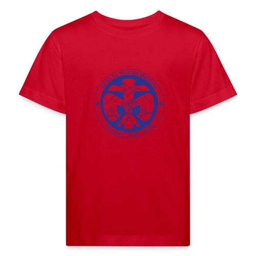 Logo Jubi Rund Blau - Kinder Bio-T-Shirt