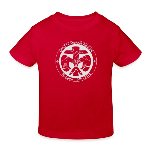 Logo Aufnaeher Jubi W - Kinder Bio-T-Shirt