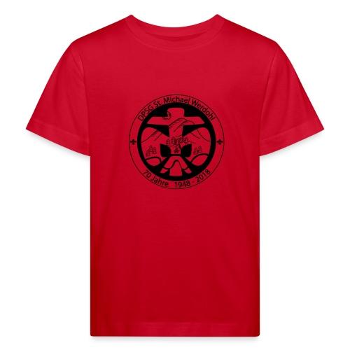 Logo Aufnaeher Jubi SW - Kinder Bio-T-Shirt