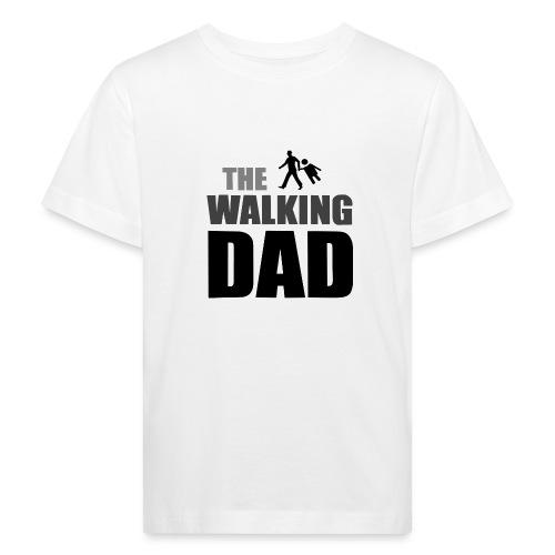 the walking dad auf dem Weg in die lustige Bar - Kinder Bio-T-Shirt