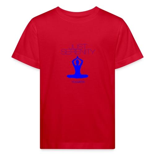 yogatyk blue - T-shirt bio Enfant