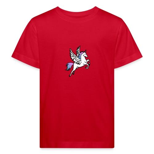 Fliegendes Einhorn - Kinder Bio-T-Shirt