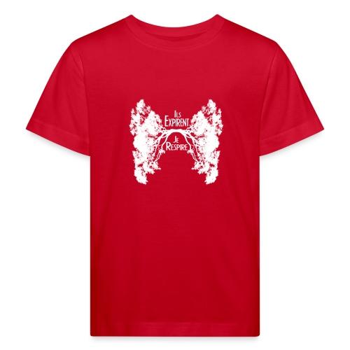 Oxygène blanc - T-shirt bio Enfant