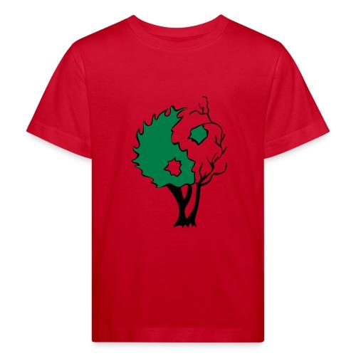 Yin Yang Arbre - T-shirt bio Enfant