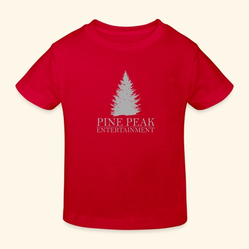 Pine Peak Entertainment Grey - Kinderen Bio-T-shirt