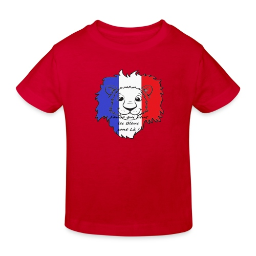 Lion supporter France - T-shirt bio Enfant