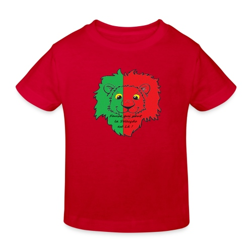 Lion supporter Portugal - T-shirt bio Enfant