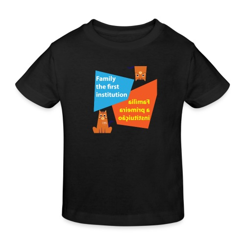 Duna Família - Økologisk T-skjorte for barn