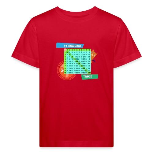 Pythagoras table - Økologisk T-skjorte for barn