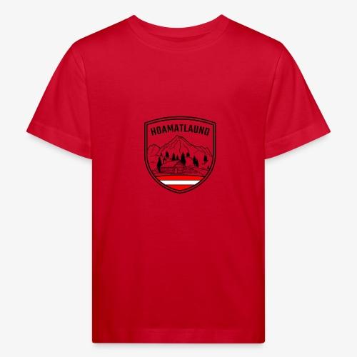 hoamatlaund österreich - Kinder Bio-T-Shirt