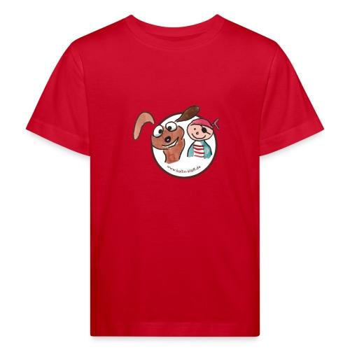 Kollin Kläff - Hund und Pirat für T-Shirt und co - Kinder Bio-T-Shirt