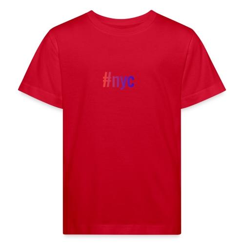 nyc - Lasten luonnonmukainen t-paita