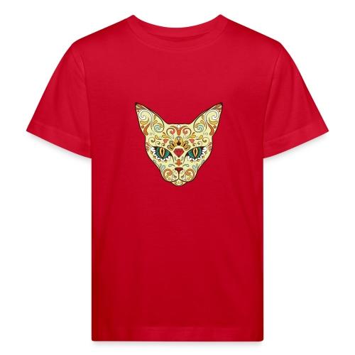 Skull Cat - Maglietta ecologica per bambini