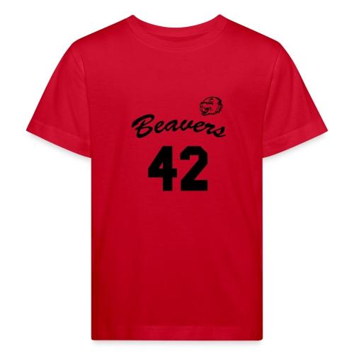 Beavers front - Kinderen Bio-T-shirt