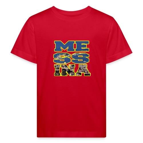 MESSINA YELLOW - Maglietta ecologica per bambini