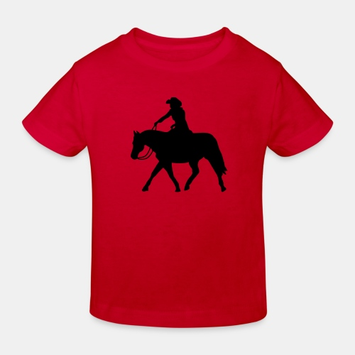 Ranch Riding extendet Trot - Kinder Bio-T-Shirt