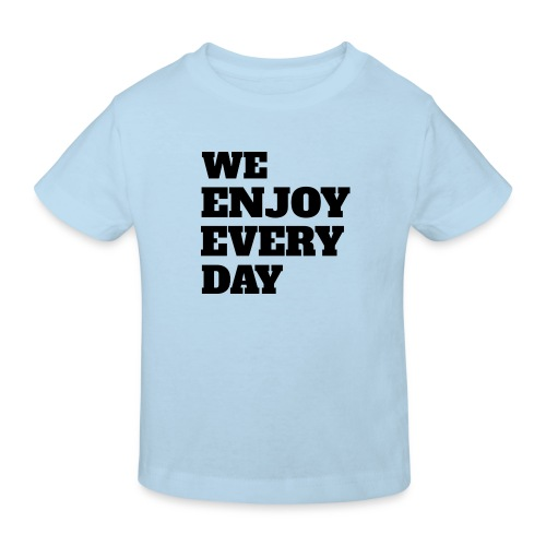 Enjoy - T-shirt bio Enfant