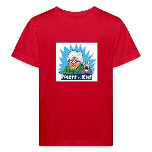 tshirt polete et kiki 1 - T-shirt bio Enfant