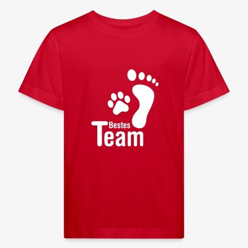 Bestes TEAM - Kinder Bio-T-Shirt