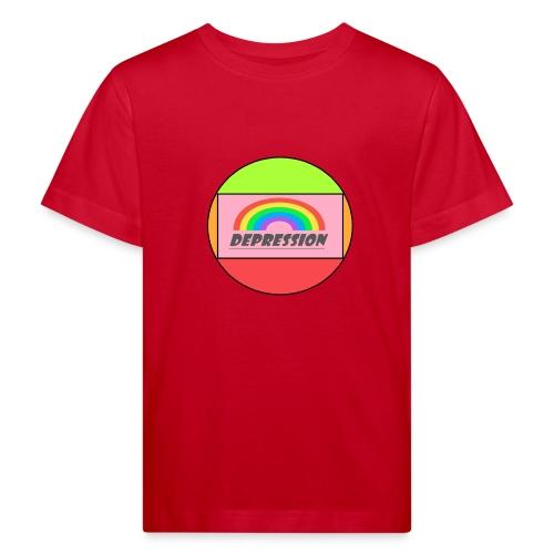 Depressed design - Kids' Organic T-Shirt