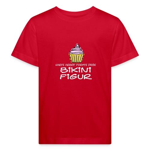 Bikinifigur, - Kinder Bio-T-Shirt